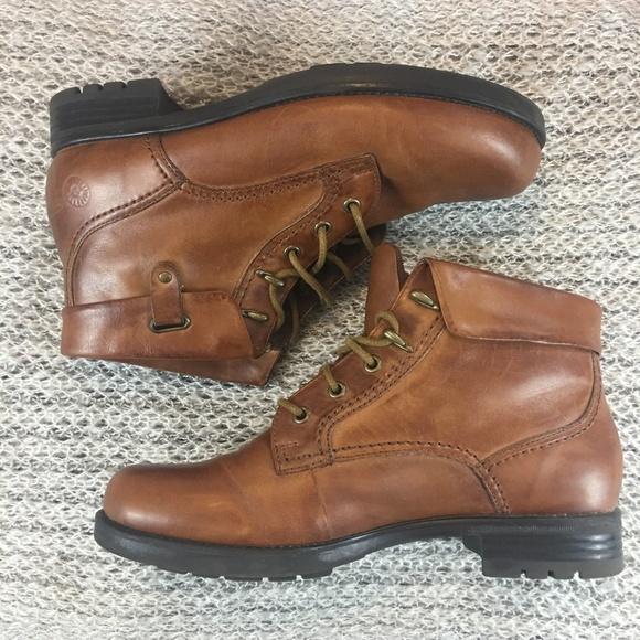 f7d779cf Earth Spirit Shoes - EARTH SPIRIT Maverick Brown Leather Boots 7.5